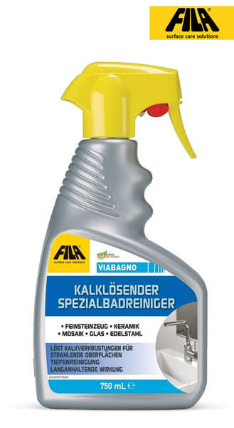 FILA Bagno Kalklösender Spezialbadreiniger 750 ml