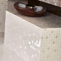 Marble Cream Shine Mosaik 17,5 x 17,5 P-6160 Rektifiziert
