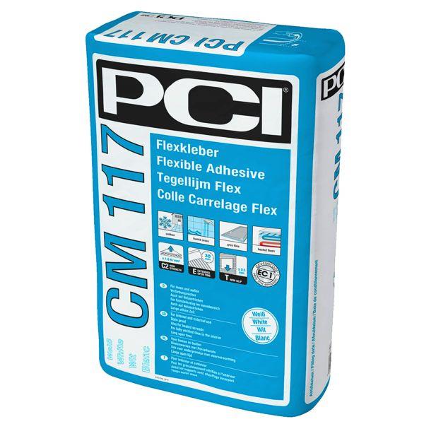 PCI CM 117 Flexkleber Weiß 25 kg